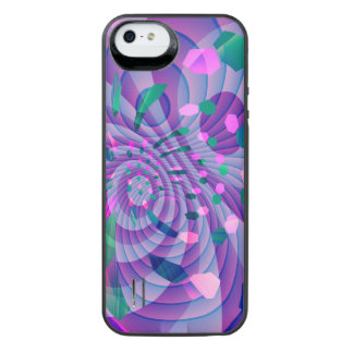 Geometric Abstract iPhone SE/5/5s Battery Case