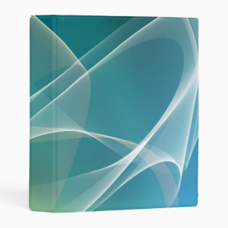 Geometric Abstract Mini Binder