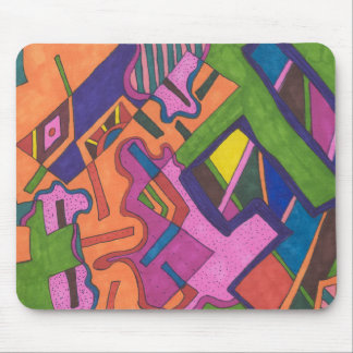 """""""Geometric"""" Abstract Mouse Pad"""