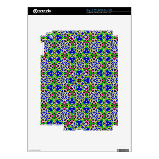 geometric abstract pattern decal for iPad 2