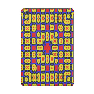 Geometric abstract pattern iPad mini cases