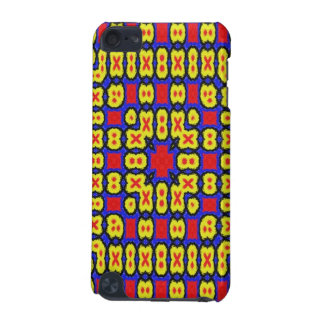 Geometric abstract pattern iPod touch (5th generation) case
