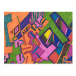"""""""Geometric"""" Abstract Postcards"""