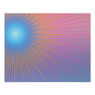 Geometric abstract. poster