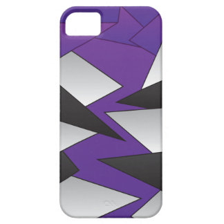 Geometric Abstract - Purple Jaw iPhone SE/5/5s Case