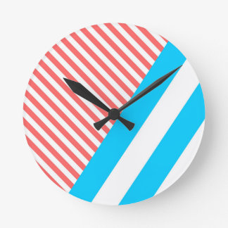 geometric, abstract round clock