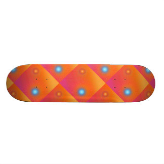 Geometric abstract. skateboard
