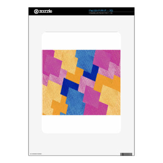 Geometric Abstract Skin For iPad