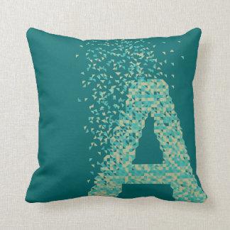 Geometric Alphabet - A - Cushion
