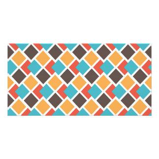 Geometric art deco card