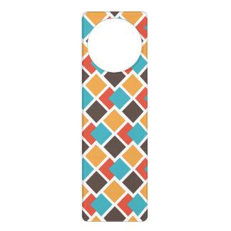 Geometric art deco door hanger