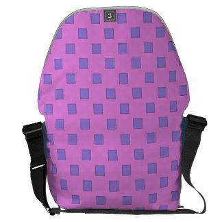 Geometric Art Courier Bags