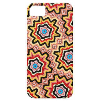 geometric Aztec starbursts iPhone case
