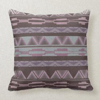 Geometric Aztec Tribal Pillow