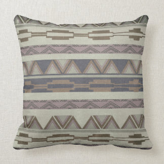Geometric Aztec Tribal Pillow