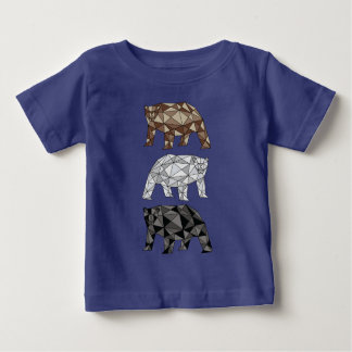 Geometric Bears Baby T-Shirt