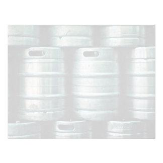 Geometric beer barrels, Czech Republic Letterhead