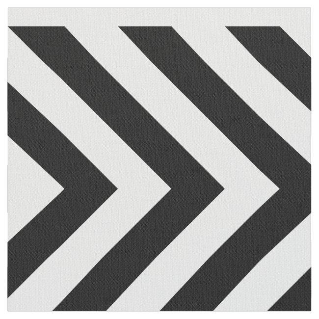Geometric Black and White Chevrons and Diamonds