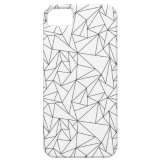 Geometric Black and White iPhone 5/5S Case