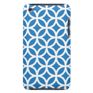 Geometric Blue iPod Touch G4 Case iPod Case-Mate Cases