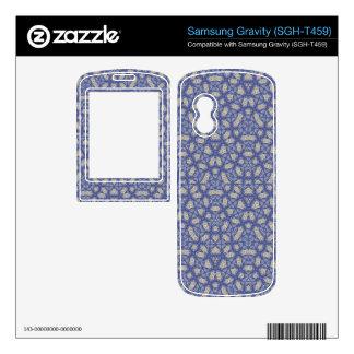 Geometric Blue Pattern Samsung Gravity Skin