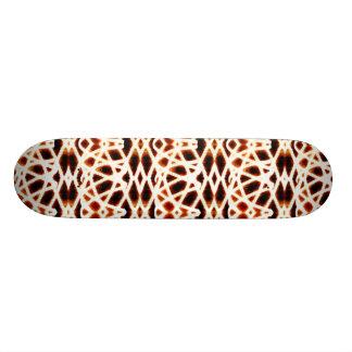 Geometric Blur Skateboard Deck
