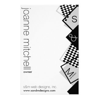 geometric boxes stationery
