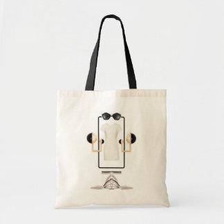 Geometric Budget Tote Budget Tote Bag
