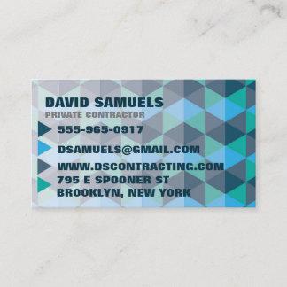 Geometric Business Card