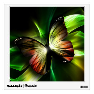 Geometric Butterfly Wall Decal