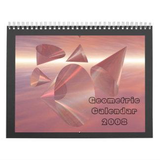 Geometric Calendar 2008