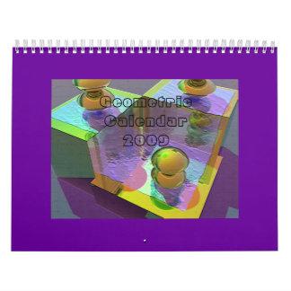 Geometric Calendar 2009 - Customized