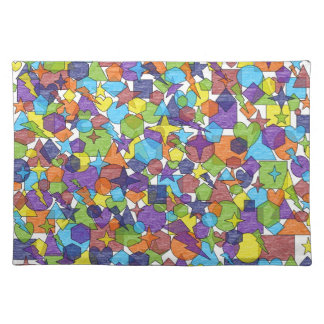 Geometric Chaos Placemat
