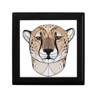 Geometric Cheetah Gift Box