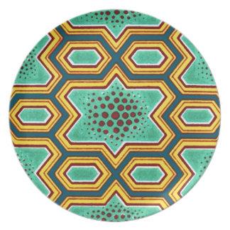 Geometric Chinese Japanese Graphic Design Plate
