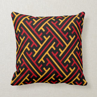 Geometric Chinese Pattern Graphic Design Pillow