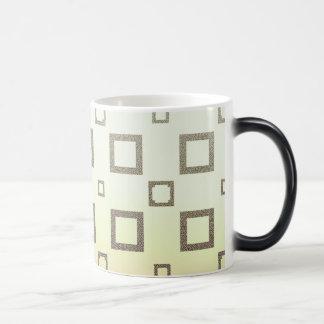 Geometric Chocolate Ice Cream Pattern Magic Mug