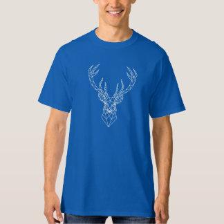 Geometric Christmas deer head T-Shirt