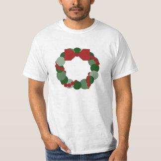 Geometric Christmas Wreath T-Shirt