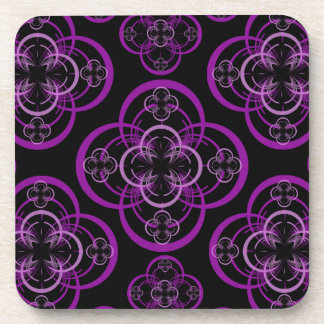 Geometric Circle Drink Coaster