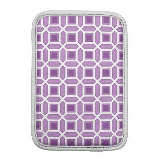 Geometric Circle Pattern Purple Sleeve For iPad Mini