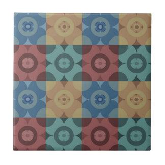 Geometric Circle Repeatable Pattern Ceramic Tile