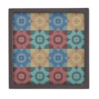 Geometric Circle Repeatable Pattern Gift Box
