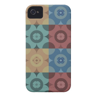Geometric Circle Repeatable Pattern iPhone 4 Cover