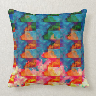 Geometric Cloud Cover Pillows