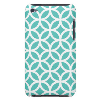 Geometric Cockatoo Turquoise iPod Touch G4 Case iPod Case-Mate Cases