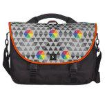 Geometric Color Wheel Laptop Commuter Bag