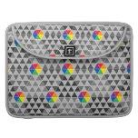 Geometric Color Wheel MacBook Pro Sleeve