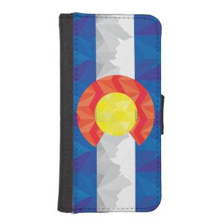 Geometric Colorado Flag I-Phone Wallet