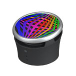 Geometric Colorburst Music Bumpster Speaker